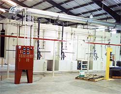 mechanical construction paint system
